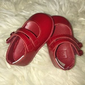 Beautiful Janie and Jack baby girl shoes